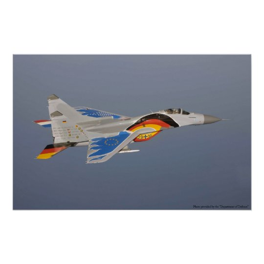 Mig-29 Poster