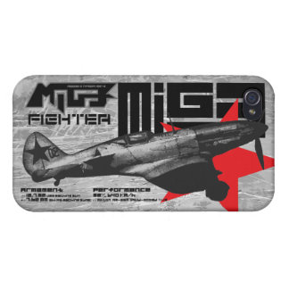 MiG-3 Cover For iPhone 4