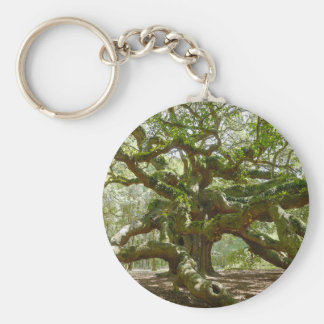 Mighty Angel Oak Key Ring