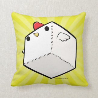Mighty cockblock Pillow