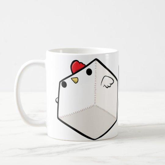 Mighty Cockblock White Mug