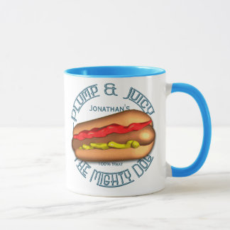 Mighty Dog Hotdog Personalized Mug