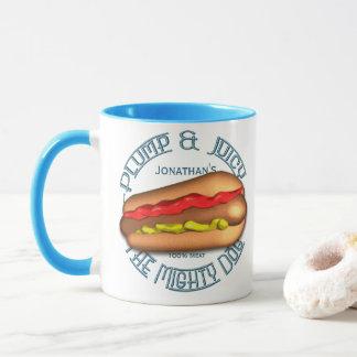 Mighty Dog Hotdog Personalized Mug