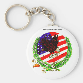 MIGHTY EAGLE, MIGHTY EAGLE by Charis Dondeli Key Ring