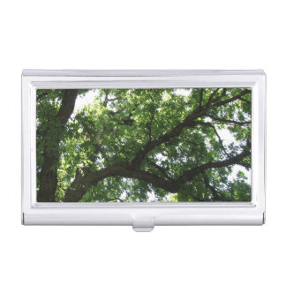 Mighty Green Tree Branch Business Card Holder
