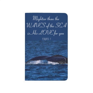 """Mighty is His Love"" Ocean-Themed Journal"