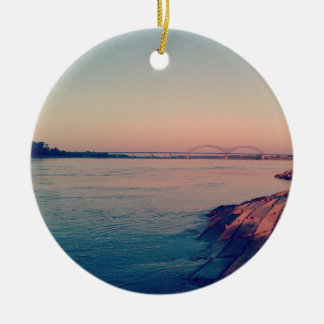 Mighty Mississippi Christmas Ornament