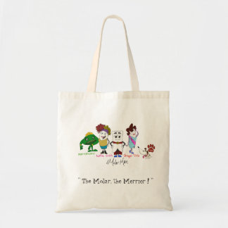 Mighty MolarMan and Friends® Budget Tote Budget Tote Bag
