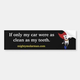 Mighty MolarMan® Bumper Sticker