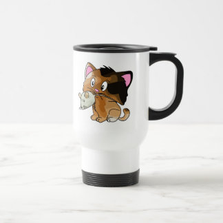 Mighty Mouse Catcher Stainless Steel Travel Mug