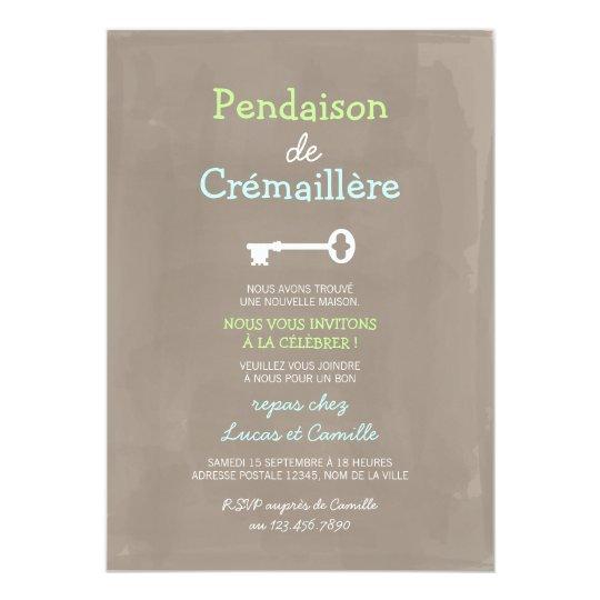 Mignon Pendaison de Crémaillère Card