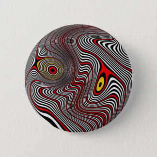 Migraine Aura Optical Illusion 6 Cm Round Badge