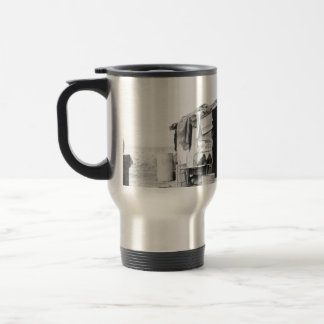 Migrant home 1937. stainless steel travel mug