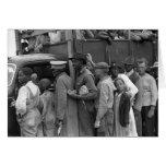 Migrant Vegetable Workers: 1939 Greeting Card