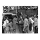 Migrant Vegetable Workers: 1939 Postcard