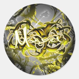 Miguel Round Sticker