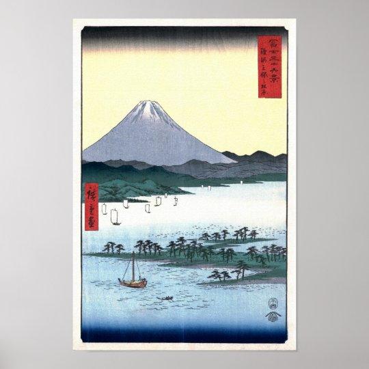 Miho Matsubara View of Fuji Hiroshige Fine Art