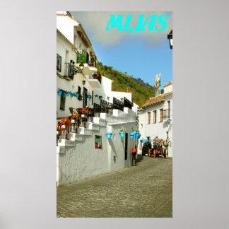 Mijas, Costa del Sol, Spain Poster