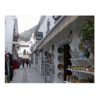Mijas Pueblo, Spain Postcard