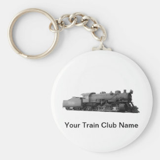 Mikado 2-8-2 Vintage Steam Engine Train Key Ring