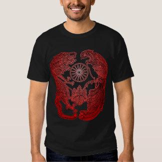 Mikado's Coat of Arms - Red Sunburst T-shirt
