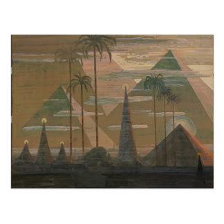 Mikalojus Ciurlionis- Sonata of the Pyramids Postcard