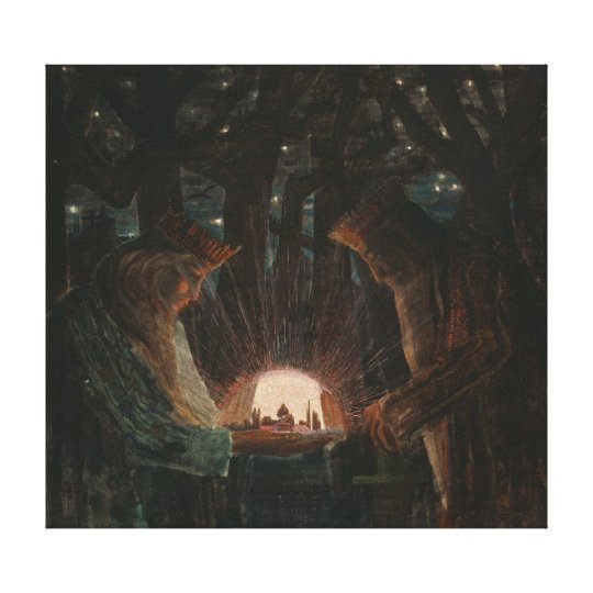 Mikalojus Konstantinas Ciurlionis Fairty Tale of K Canvas