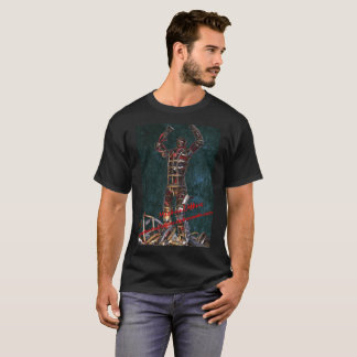 Mike Atkins Robot Frankenstein T-Shirt