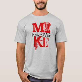 MIKE, falzone T-Shirt