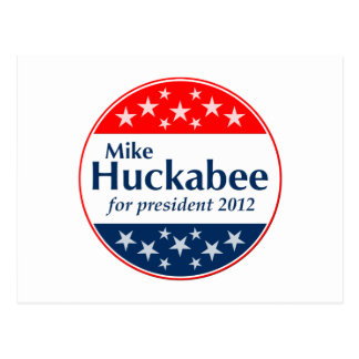 Mike Huckabee 2012 (v106) Postcard