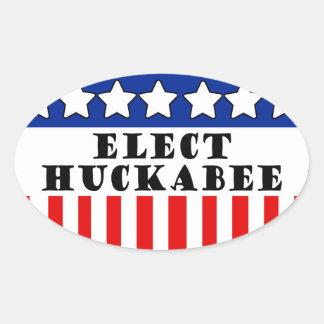 Mike Huckabee 2016 Oval Sticker