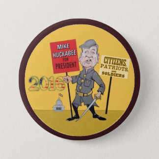 Mike Huckabee for president 2016 7.5 Cm Round Badge