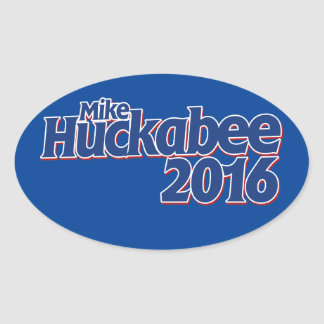 Mike Huckabee Oval Sticker