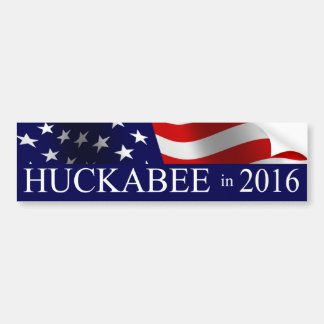 Mike Huckabee President in 2016 Bumper Sticker