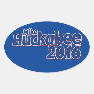 Mike Huckabee Oval Sticker