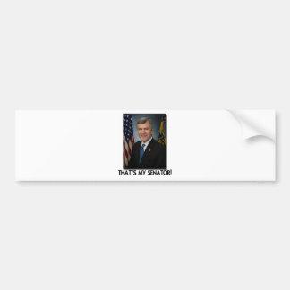 Mike Johanns That s My Senator Bumper Sticker
