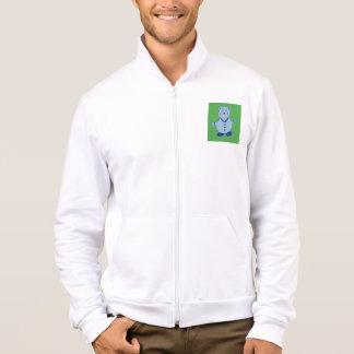Mike Men's American Apparel Fleece Zip Jogger Jacket