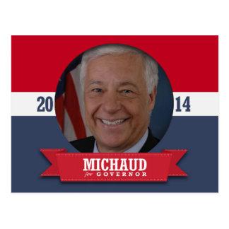 MIKE MICHAUD CAMPAIGN POSTCARD