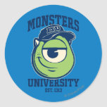 Mike Monsters University Est. 1313 Round Stickers