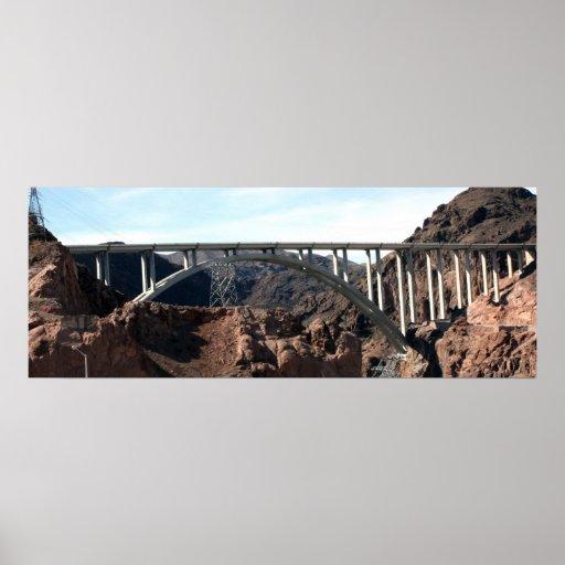 Mike O'Callaghan-Pat Tillman Memorial Bridge Print