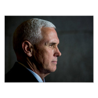 Mike Pence as Vice-President Poster