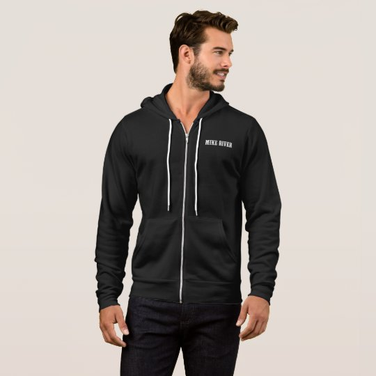 Mike River Official Zip Hoodie