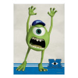 Mike Scaring Poster