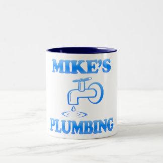Mike's Plumbing Mug