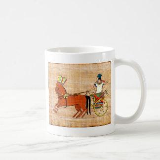 Miketz - Joseph's Chariot Basic White Mug