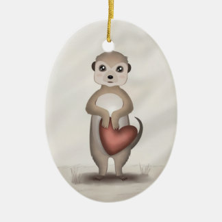 Mikey the Meerkat - Ornament