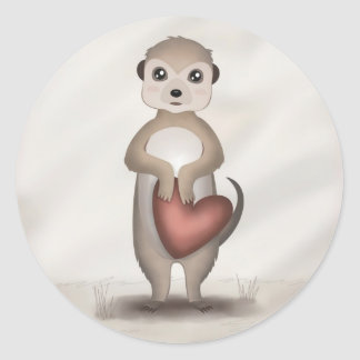 Mikey the Meerkat - Stickers