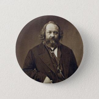 Mikhail Bakunin Russian Anarchist by Nadar 6 Cm Round Badge
