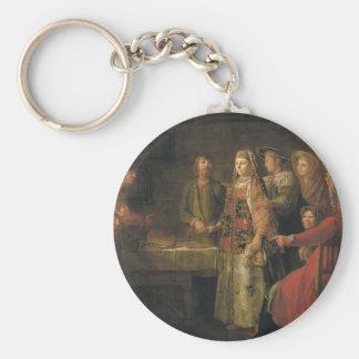 Mikhail Shibanov- The celebration of the wedding Keychains
