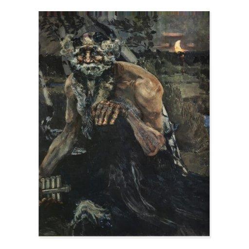 Mikhail Vrubel- Pan Postcards
